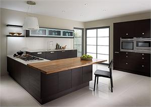 Fenton Wenge Contemporary Kitchen