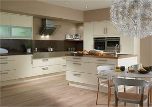 Fenton Alabaster Contemporary Kitchen