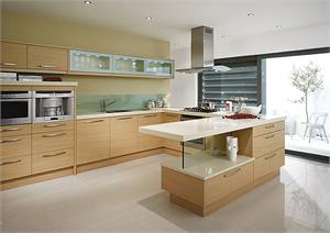 Fenton Oak Contemporary Kitchen