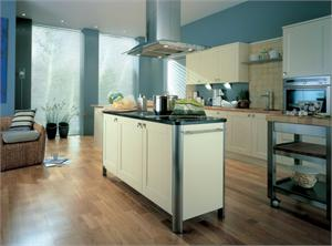 Freestyle Ivory Contemporary Kitchen