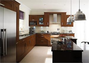 Seton Walnut Contemporary Kitchen