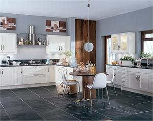 Scope Ivory Contemporary Kitchen
